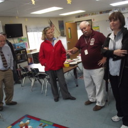 Obama sends 2 Cabinet secretaries to tour Passamaquoddy school