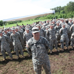 Maine Guard members build schools in El Salvador