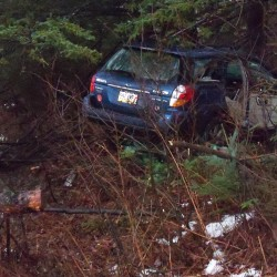 Bangor man, woman in fair condition after high-speed chase, crash following robbery
