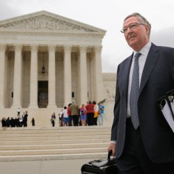 Health care arguments recall a Supreme Court case that is an equal-opportunity offender