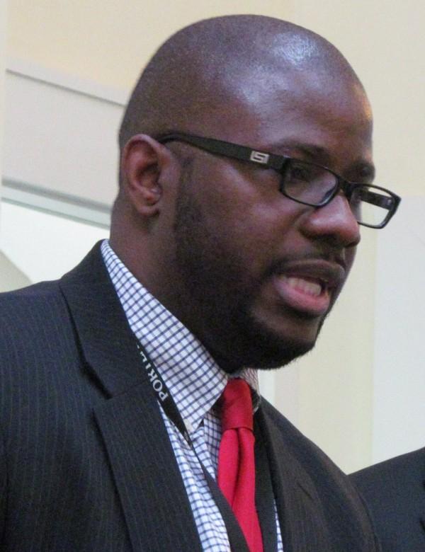 Portland Public Schools Superintendent Emmanuel Caulk in a 2013 BDN file photo.