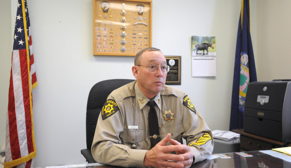 Glenn Ross served 12 years as sheriff of Penobscot County. He decided to retire at the end of his term in December 2014.