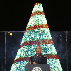 Gov. Patrick: It's a Christmas tree