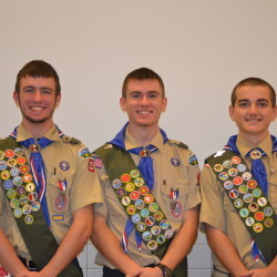 Unity Scouts do good deed to earn badges
