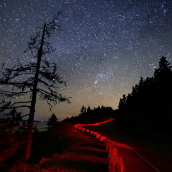 Photographer finds wonder in night sky