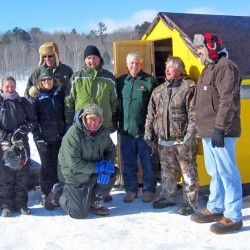 Maine ice shack transformed into 'Shangri-La'