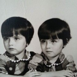 twin sisters Barbara Pinette Kimball and Bobbie Pinette Allen