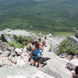 On Mount Katahdin, sharing a family tradition