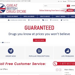 British pharmacy chain launches online drugstore for Maine consumers