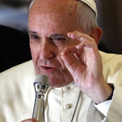 Pope calls for action to combat climate change, save planet