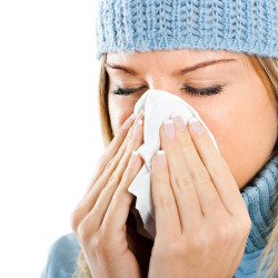 With cold and flu season comes pinkeye