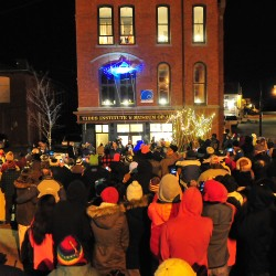 Hundreds attend sardine drop at Eastport