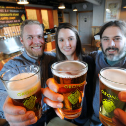 Woodman's owners opening Orono brewery at former Dr. Records location
