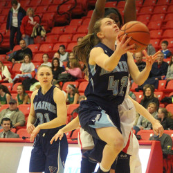 Stony Brook ends UMaine women's basketball team's win streak