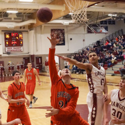 Inside play rallies Bangor boys basketball team past rival Brewer