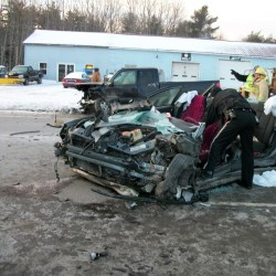 Two injured in Union crash
