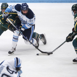 New UMaine coach, staff preach accountability, hard work and up-tempo hockey