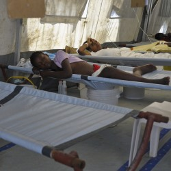 Maine medical team battles cholera in Haiti