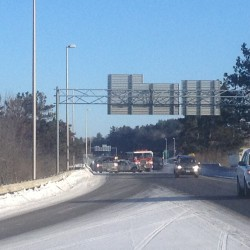 I-95 accident causes 3-mile traffic jam