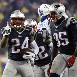 Patriots run past Colts into AFC championship game