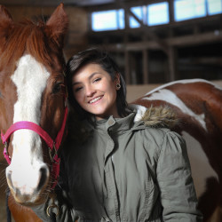 Dalaylun Demmons, 15, and her horse, Boston, an American Appendix, have competed together in horse shows around the state for the last four years.