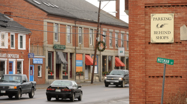 Downtown Searsport as seen in this 2014 BDN file photo.