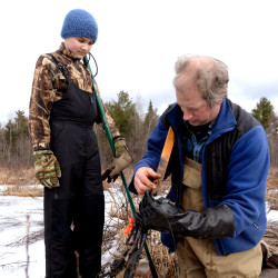 Brewer students study Maine mammals
