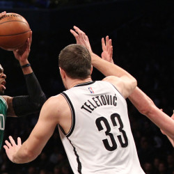 Brooklyn features scoring balance in victory over Celtics