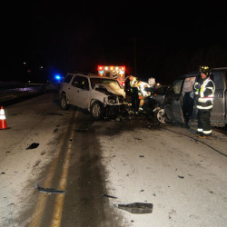 Traffic rerouted after three-vehicle crash Saturday night on Route 1A in Holden