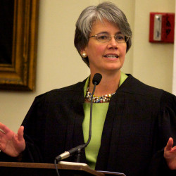 First woman sworn in as U.S. District Court judge in Maine