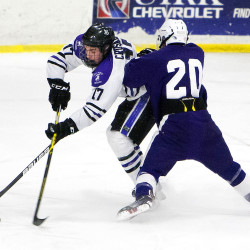 Fletcher scores a pair as Crusaders upend Houlton-Hodgdon hockey team