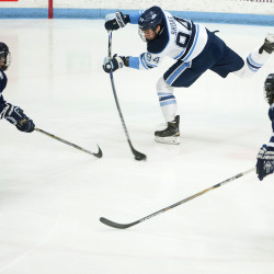 Disallowed goal forces Maine to settle for 3-3 tie with Boston University