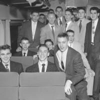 Memories of high school basketball/Bangor auditorium intertwined