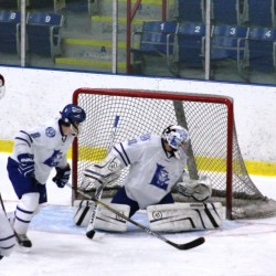 Poulin helps Lewiston hockey team knock off top-ranked Bangor