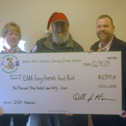 Lori Didone of EAAA-Don Hanson of Green Acres-Robert Crone of EAAA