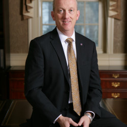 Tony C. McKim, President and CEO of The First Bancorp