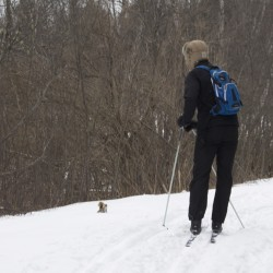 New cross-country ski event in Bangor this weekend