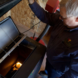 Have heat, will travel: Orono heating company PelletCo takes a new approach to business