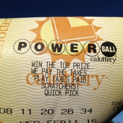 Feeling lucky? Powerball jackpot could exceed $600 million