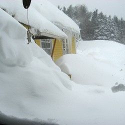 October snowstorm sets records in southern, western Maine