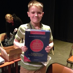 Orono boy forgoes practice, wins Penobscot County Spelling Bee with 'tertiary'