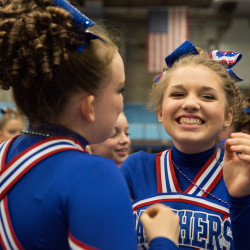 Central Aroostook captures Class D cheering regional; Machias is runner-up