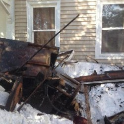 Three homeless after fire destroys Saco building