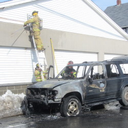 Truck crashes into Rockland storefront, apartment building