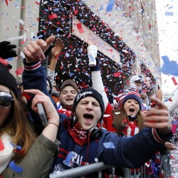 Triumphant Boston celebrates with World Series victory parade