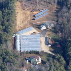 North Yarmouth greenhouse goes greener with solar panels, geothermal system
