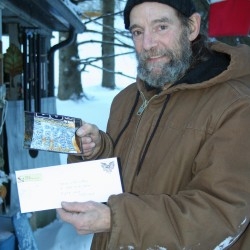 Mainer collects winnings 4 years after buy