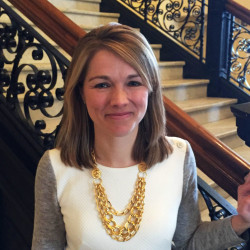 Carlisle McLean, pictured at the State House after her confirmation to the Maine Public Utilities Commission in January