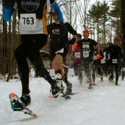 Maine snowshoers win gold at national championships