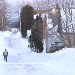 First major snowstorm dumps more than a foot on Maine